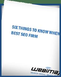 6 Things Choosing SEO Firm