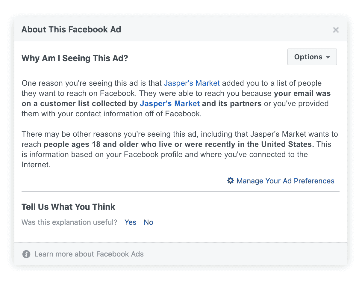 FB Post - Audience #2