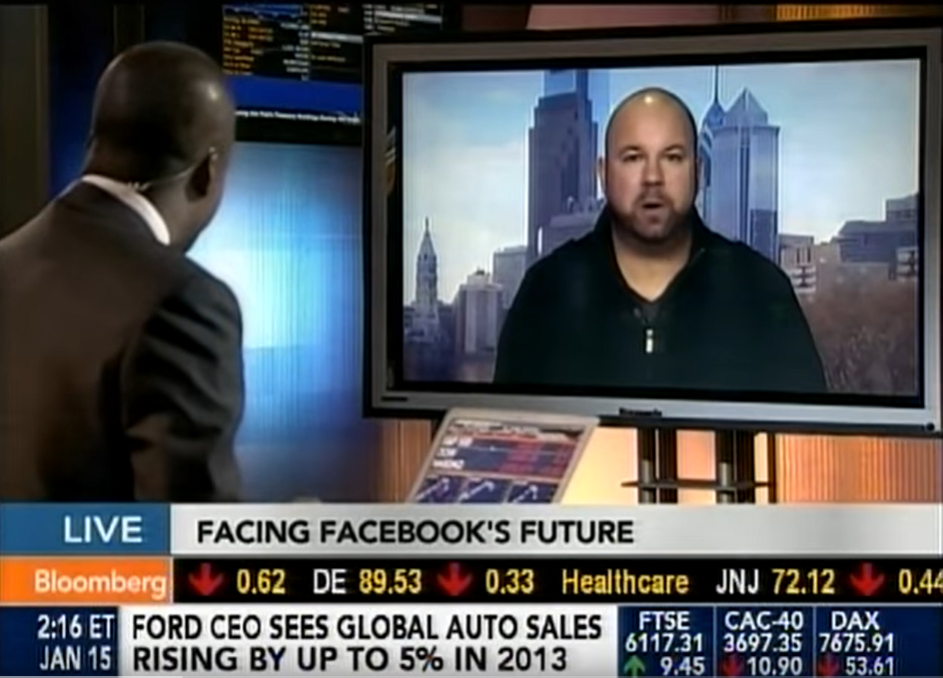 Ken Wisnefski discusses Facebook update on Bloomberg TV