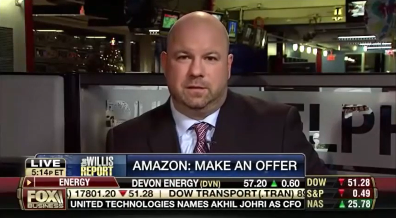 Ken Wisnefski discusses new Amazon feature on Fox Business TV