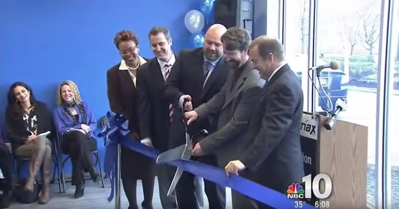 WebiMax Camden Ribbon Cutting on NBC 10 Philadelphia